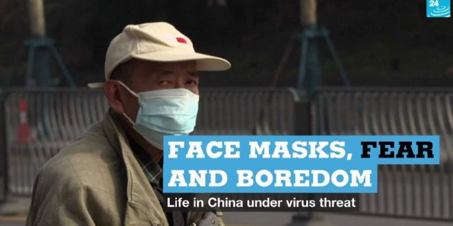 Face masks, fear and boredom: Chinese react to virus threat