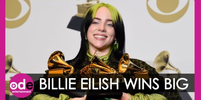The Grammys 2020: Billie Eilish Sets New Record with Awards Clean Sweep
