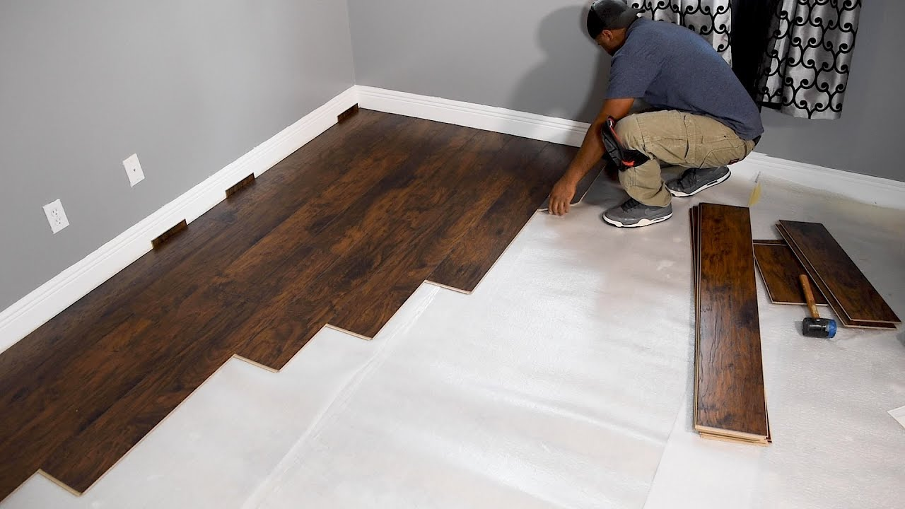 Install Laminate Flooring for beginners