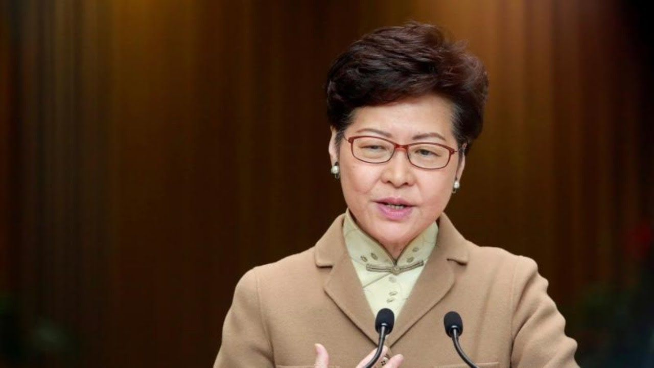 Live: Carrie Lam speaks to media amid COVID-19 concerns ...