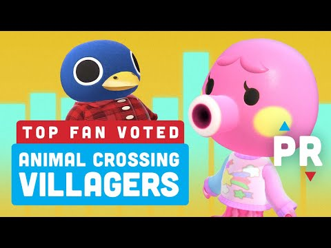Revealed Your Top 5 Animal Crossing New Horizons Villagers