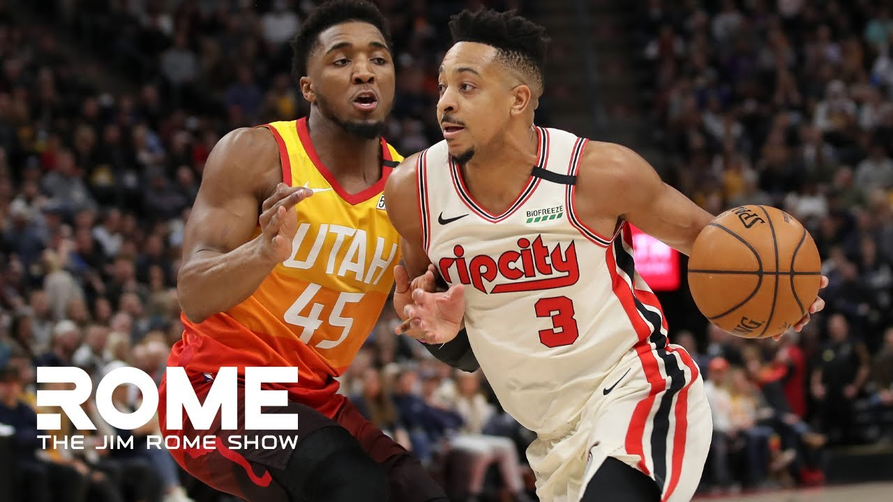 CJ McCollum Talks About The NBA Hiatus The Jim Rome Show