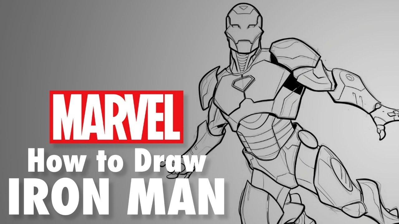 How To Draw Iron Man Live W Will Sliney Marvel Comics The Global Herald