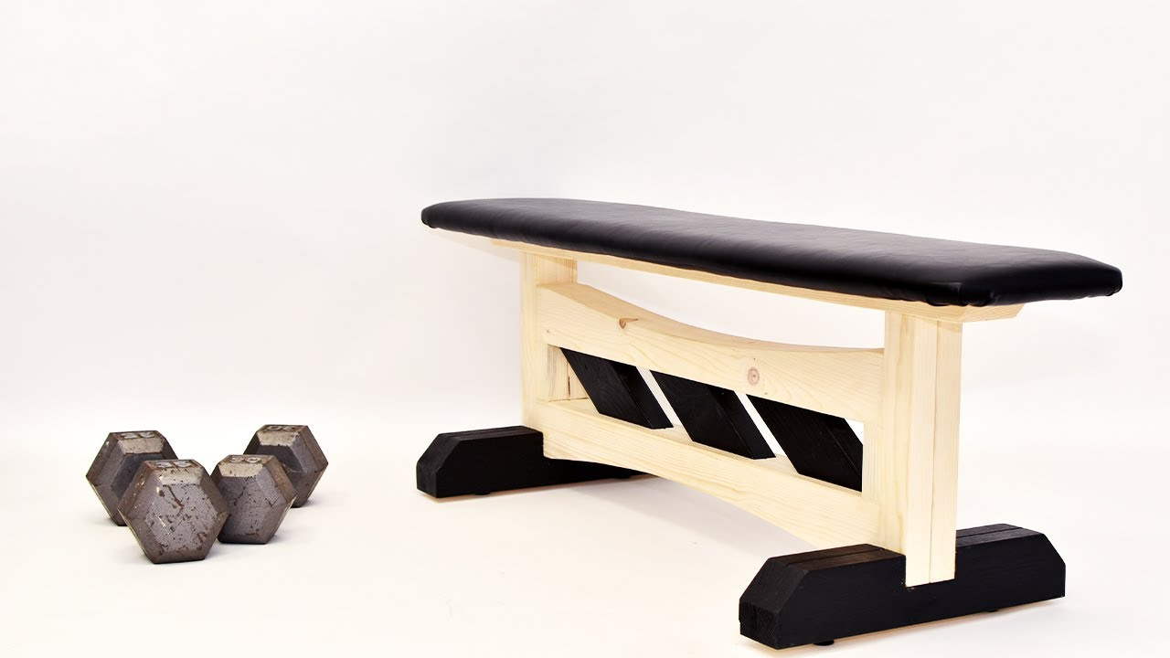 How To Build This Workout Bench Flat