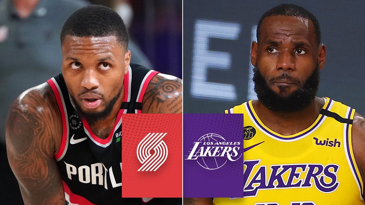 Portland Trail Blazers Vs Los Angeles Lakers Game 1 Highlights 2020 Nba Playoffs The Global Herald