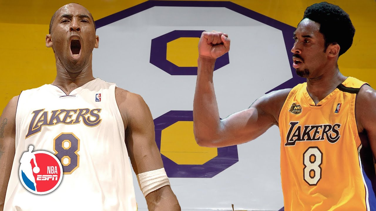 Kobe Bryant S Best Moments Wearing The No 8 Jersey Nba On Espn The Global Herald