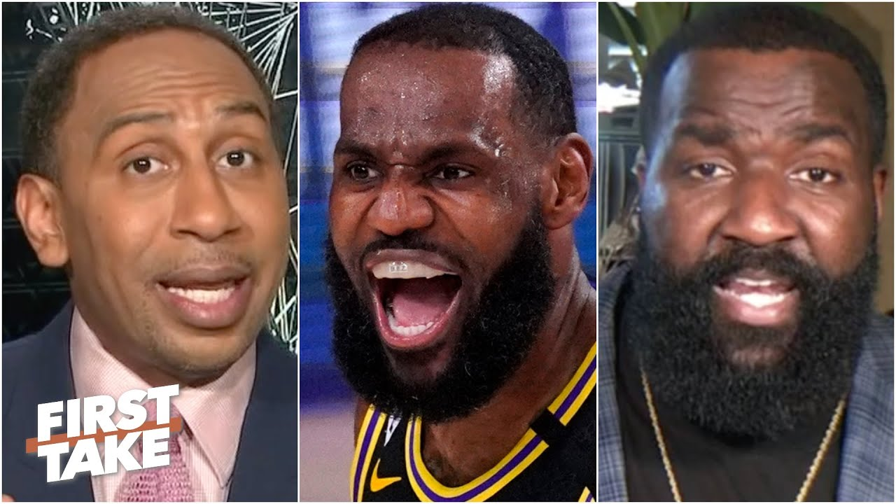 First Take reacts to Lakers vs. Rockets Game 2: Impressed ...