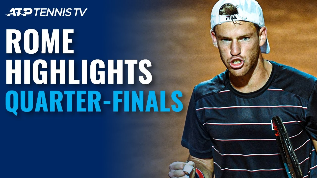 Schwartzman Shocks Nadal; Djokovic, Shapovalov Fight Through | Rome 2020 Quarter-Final Highlights