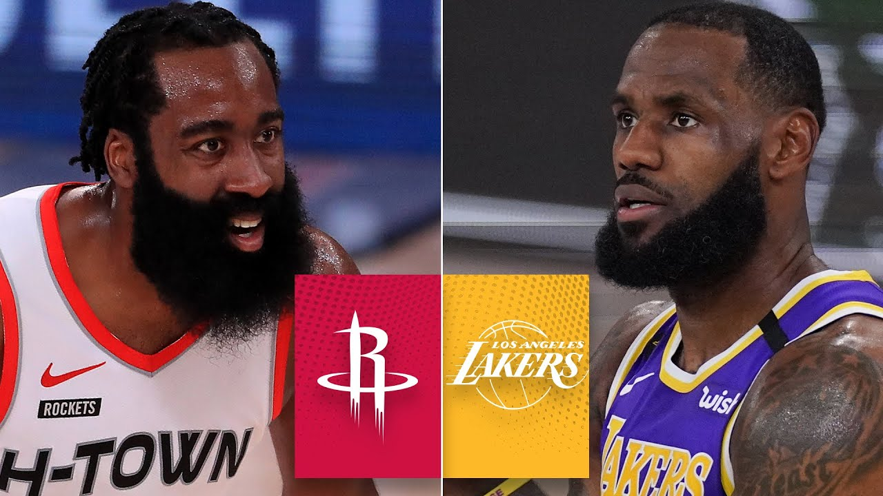 Houston Rockets vs. Los Angeles Lakers [GAME 1 HIGHLIGHTS ...