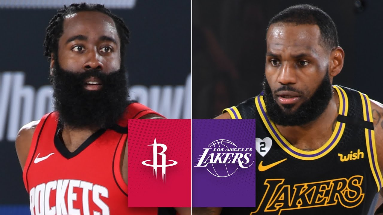 Houston Rockets Vs Los Angeles Lakers Game 2 Highlights 2020 Nba Playoffs The Global Herald