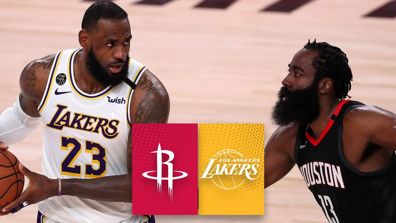Houston Rockets vs. Los Angeles Lakers [GAME 5 HIGHLIGHTS ...