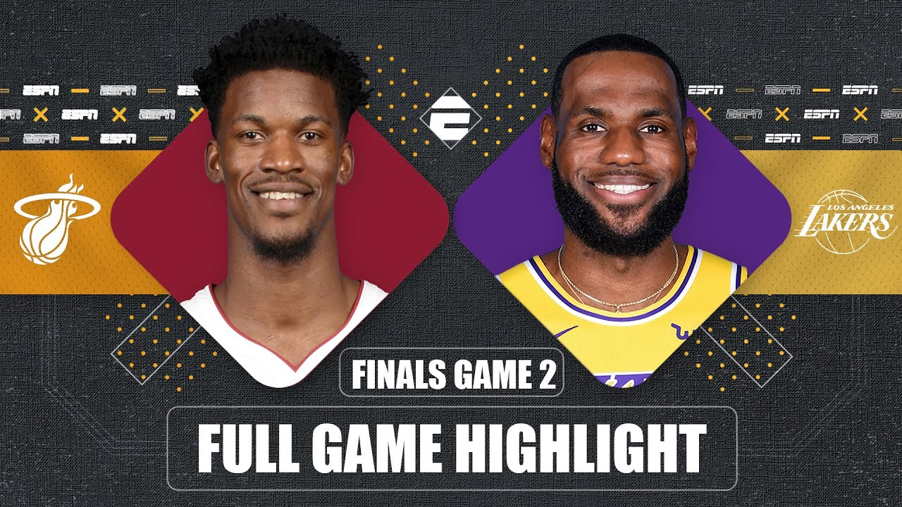 Miami Heat vs. Los Angeles Lakers [GAME 2 HIGHLIGHTS ...