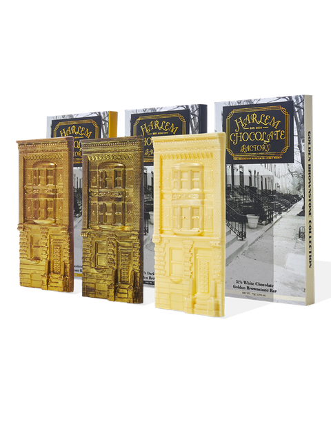 Golden Brownstone Gift Set from Harlem Chocolate Factory