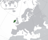 island of ireland map