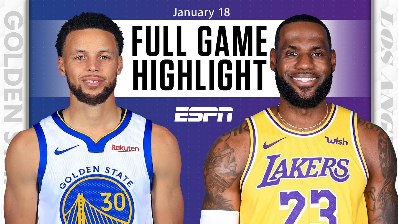 Golden State Warriors Vs Los Angeles Lakers FULL GAME