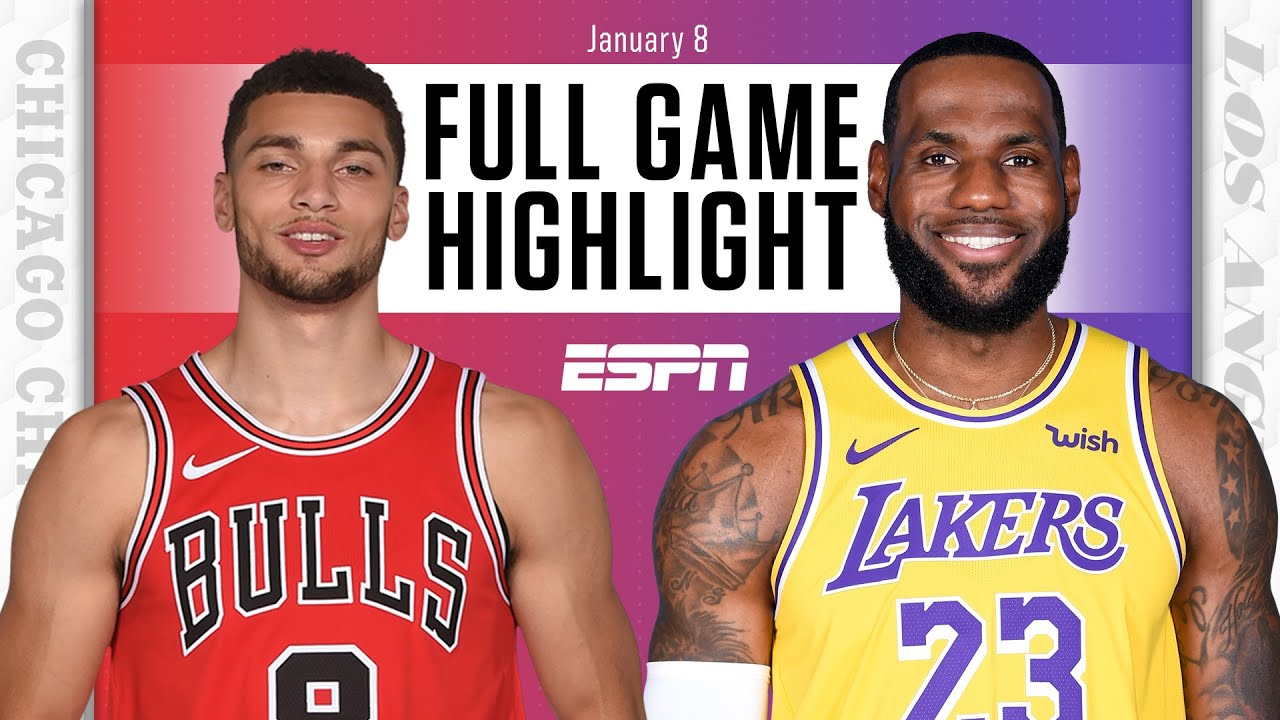 Chicago Bulls vs. Los Angeles Lakers [FULL GAME HIGHLIGHTS] | NBA on ESPN -  The Global Herald