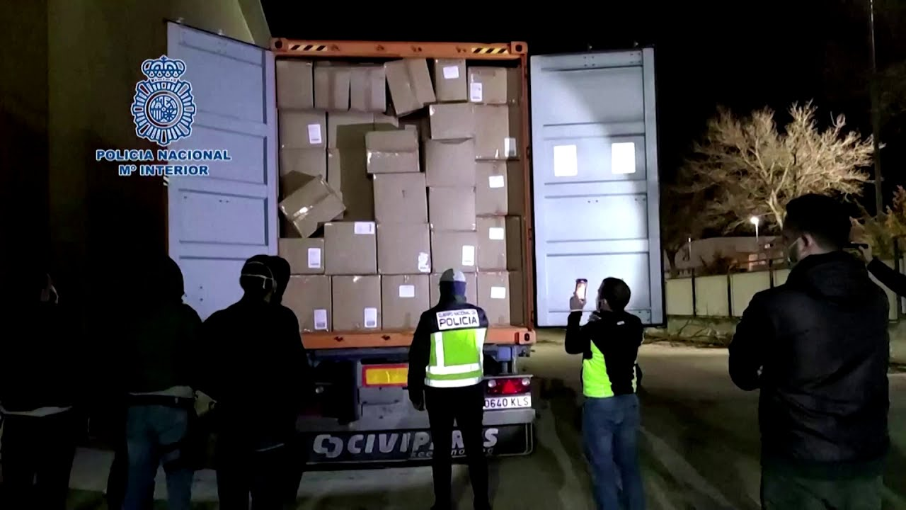 Spanish Police Bust Biggest Cocaine Gang in Madrid