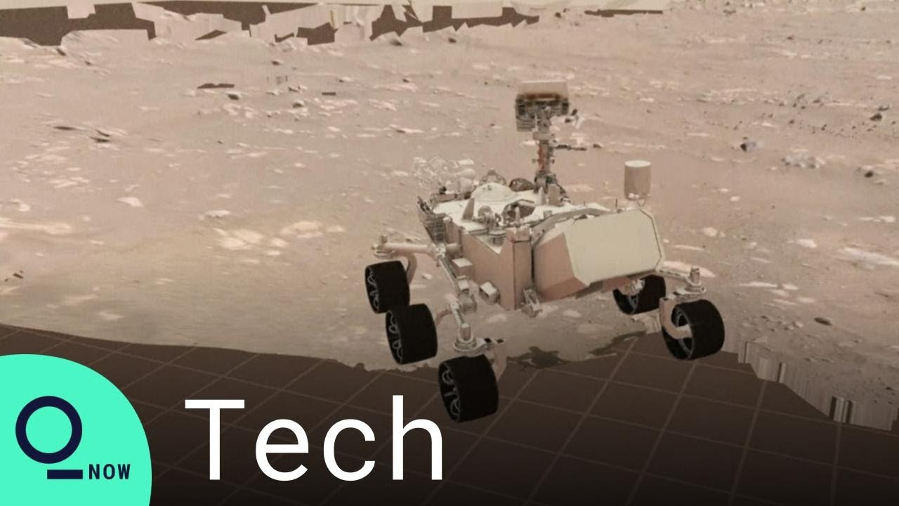 NASA Shows Perseverance Rover's First Successful Drive on Mars