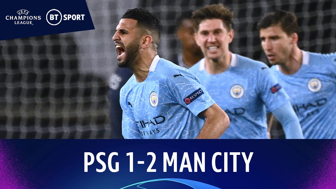 PSG v Manchester City (1-2)   Mahrez Free-Kick Secures Away Win   Champions  League Highlights - The Global Herald