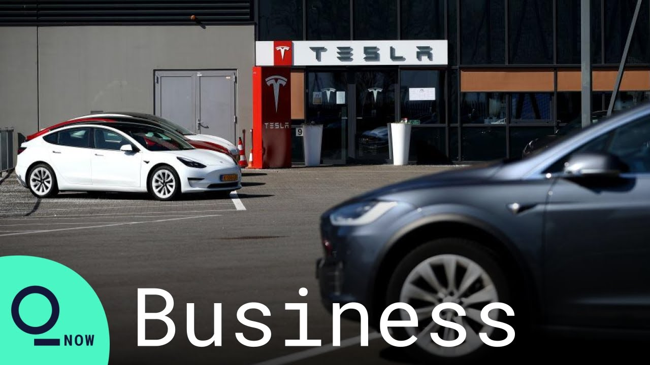 Tesla's 'Jaw Dropper' Delivery Numbers Supercharge EV Stocks