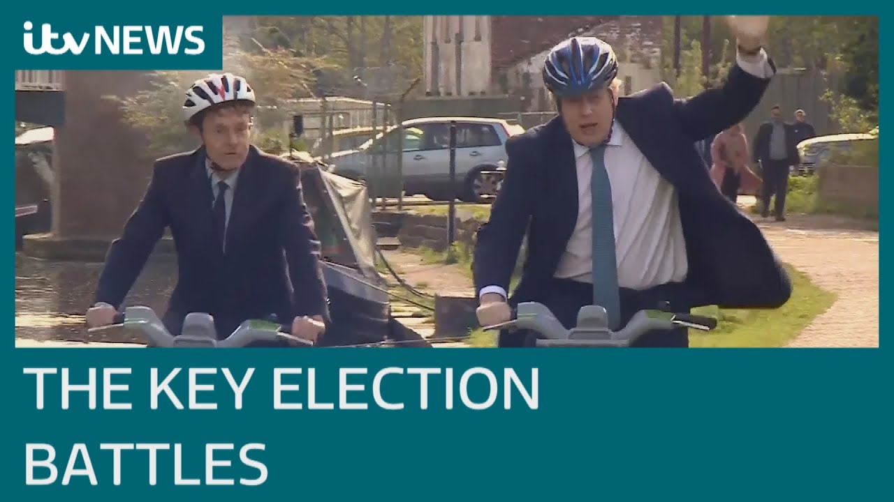 Elections in England will be first face-off between Boris Johnson and Sir Keir Starmer