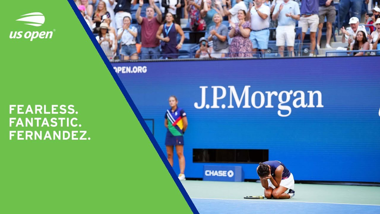 19-year-old Fernandez Books Place in Semifinals | Match Point | 2021 US Open